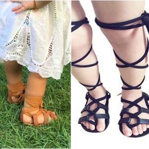 NEW Infant Gladiator Tie-Up Sandals